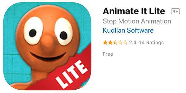 Animate It! Aardman Stop Motion Animation app