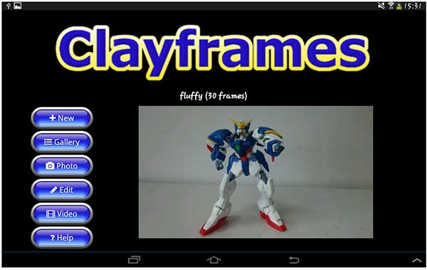 Clayframes stop motion app