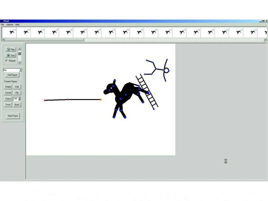 Free Stick Figure Animator - Pivot